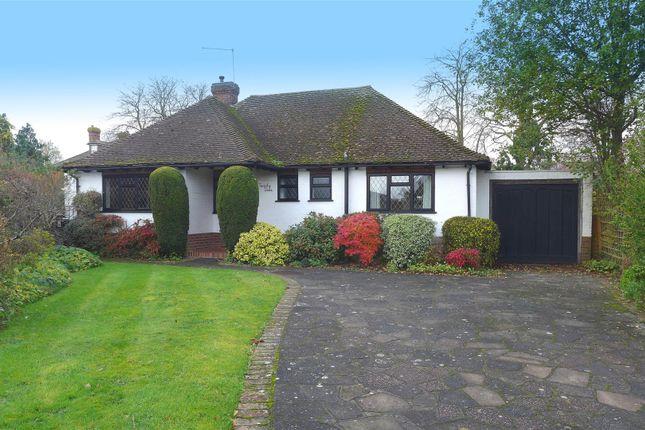 Thumbnail Detached bungalow for sale in Knowsley Way, Hildenborough, Tonbridge