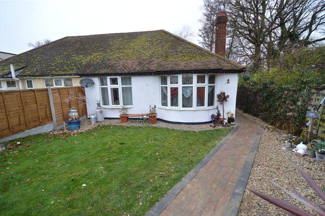 Thumbnail Semi-detached bungalow for sale in Sherwood Crescent, Benfleet, Essex