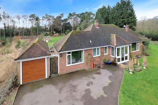 Thumbnail Detached bungalow for sale in Common Road, Kensworth, Dunstable