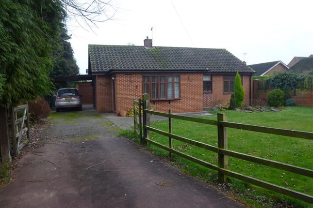 Thumbnail Bungalow for sale in Fingle Street, North Leverton, Retford