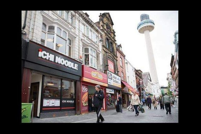 Thumbnail Restaurant/cafe for sale in Richmond Street, Liverpool