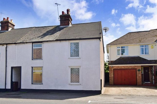Thumbnail End terrace house for sale in Island Road, Upstreet, Canterbury, Kent