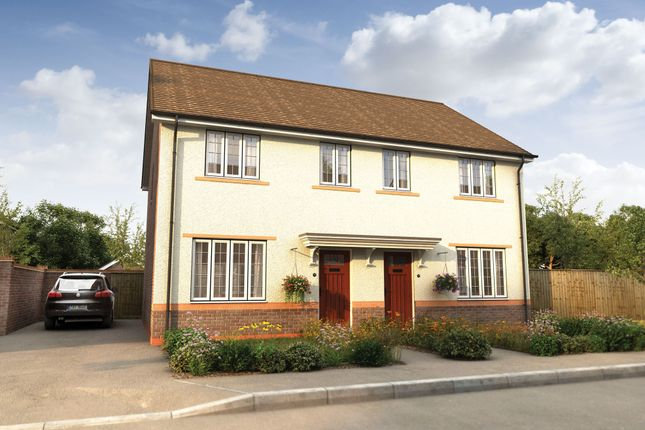 "Thumbnail 3 bedroom semi-detached house for sale in ""The Byron"" at Church Lane, Wistaston, Crewe"