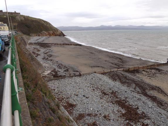 Sea And Castle of Marine Terrace, Criccieth, Gwynedd LL52