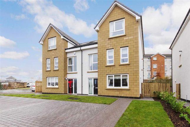 Thumbnail Semi-detached house for sale in Caitlin Gardens, Stewartfield, East Kilbride
