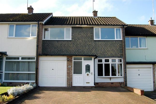 Thumbnail Terraced house to rent in Red Hill, Redditch