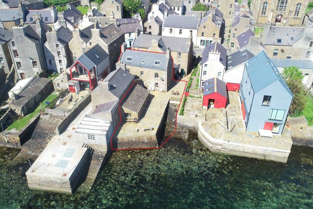 Thumbnail Town house for sale in Graham Place, Stromness