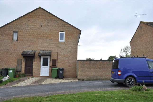 Thumbnail End terrace house to rent in Sargent Close, Exeter