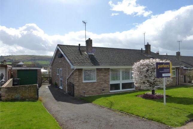 Thumbnail Semi-detached bungalow for sale in Glynfield Rise, Ebley, Stroud, Gloucestershire
