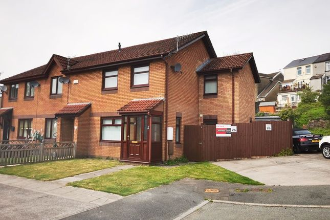 Thumbnail Semi-detached house for sale in Riverside Park, Georgetown, Merthyr Tydfil