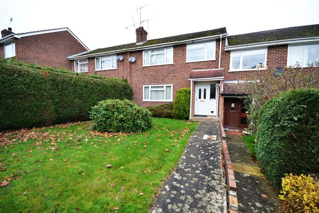 Thumbnail Terraced house for sale in Sandown Close, Blackwater, Surrey