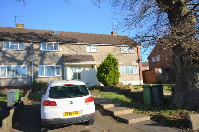 2 bed terraced house for sale in Braunton Avenue, Llanrumney, Cardiff. CF3