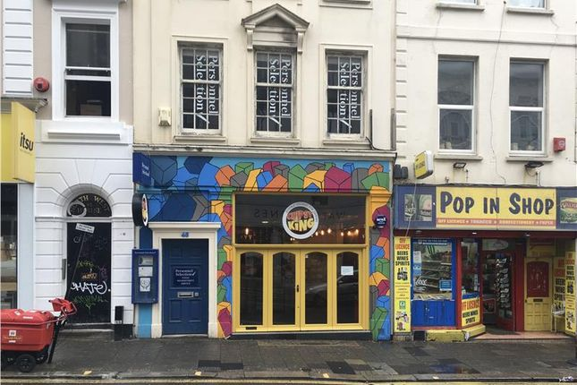 Thumbnail Restaurant/cafe to let in 46 West Street, Brighton, East Sussex