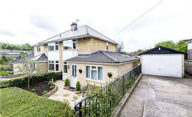 Thumbnail Semi-detached house for sale in Eagle Road, Batheaston, Somerset