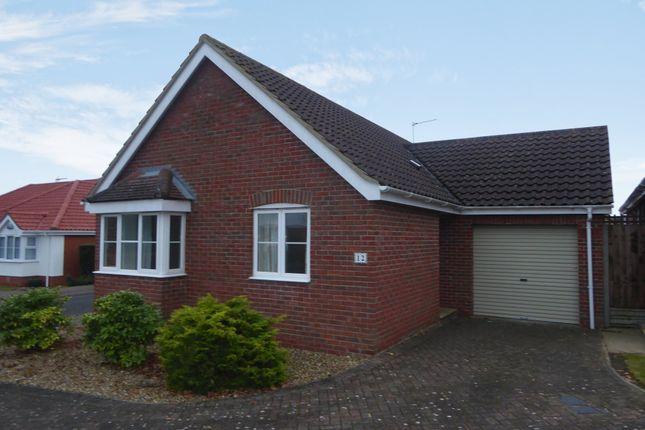 Thumbnail Detached bungalow to rent in Richard Crampton Road, Beccles