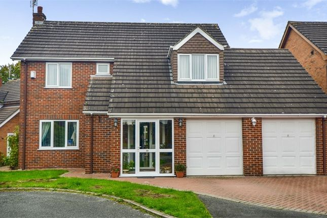 Thumbnail Detached house for sale in Millbeck Close, Weston, Crewe, Cheshire