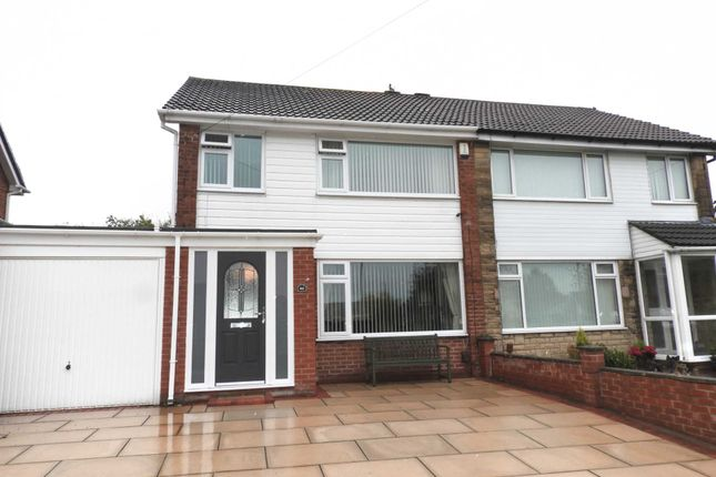 Thumbnail Semi-detached house to rent in Pennine Way, Mill Park, Kirkby