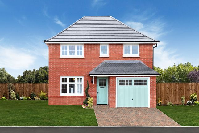 "Thumbnail Detached house for sale in ""Shrewsbury"" at Ledsham Road, Little Sutton, Ellesmere Port"