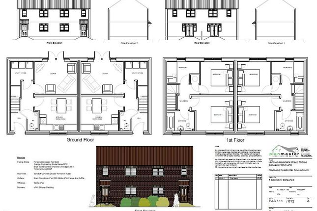 Thumbnail Semi-detached house for sale in Alexandra Street, Thorne, Doncaster
