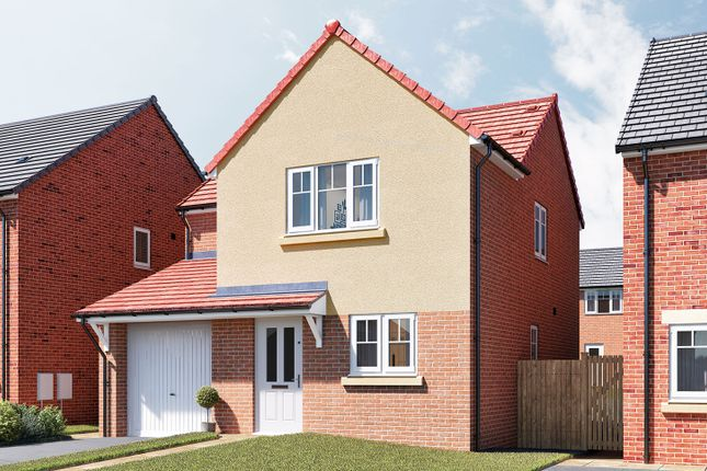 """Thumbnail Detached house for sale in """"The Maddison"""" at Douglas Crescent, Auckland Park, Bishop Auckland"""