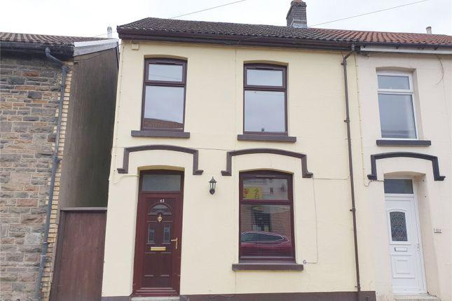 Semi-detached house for sale in Ynyscynon Road, Tonypandy, Rhondda Cynon Taf