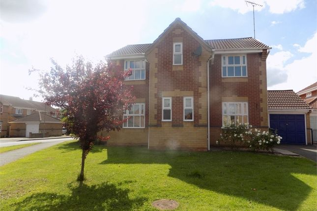 Thumbnail Detached house to rent in Carling Avenue, Worksop, Nottinghamshire