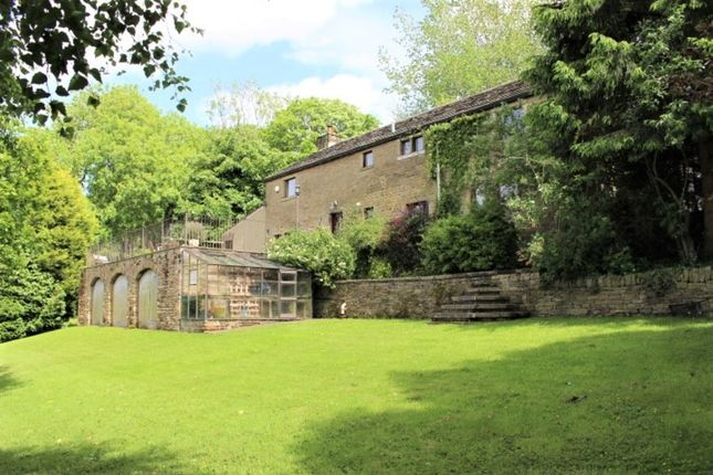 Thumbnail Detached house for sale in Derbyshire Level, Glossop