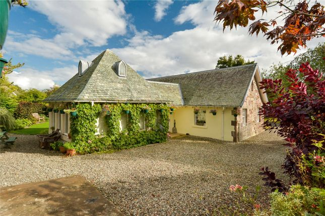 Thumbnail Detached bungalow for sale in The Beehive, Fowlis Wester, Crieff, Perthshire