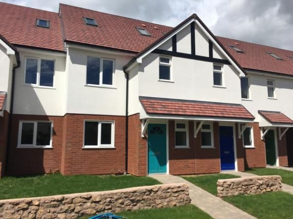 Thumbnail Terraced house for sale in Foxdown Hill, Wellington