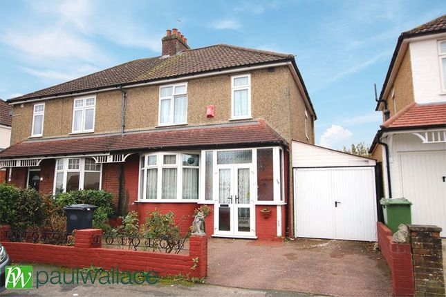 Thumbnail Semi-detached house to rent in Bushby Avenue, Broxbourne