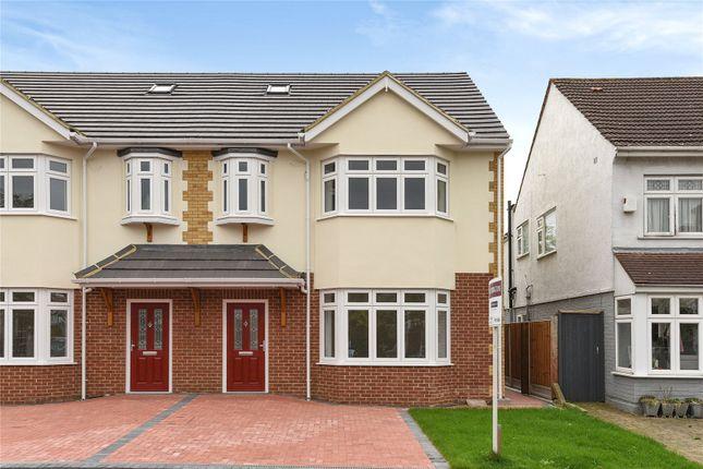 Thumbnail Semi-detached house for sale in Heathcote Grove, Chingford, London
