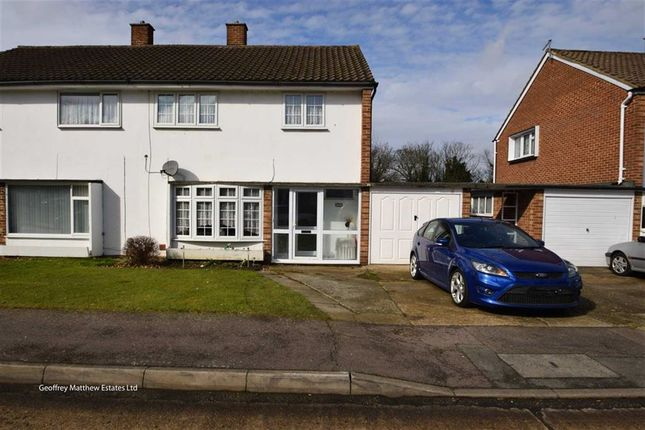 Thumbnail Semi-detached house for sale in Felmongers, Harlow, Essex