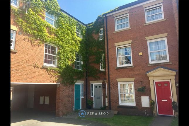 Thumbnail Terraced house to rent in Gibson Close, Nantwich