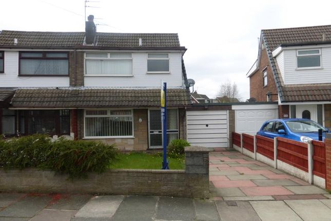 Thumbnail Semi-detached house to rent in Porlock Avenue, Sutton Leach, St Helens