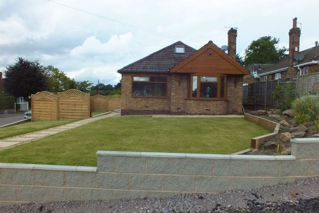 Thumbnail Detached bungalow for sale in Woodside Avenue, Brown Edge, Stoke-On-Trent
