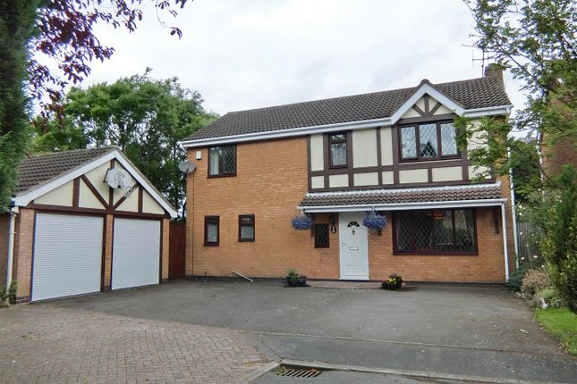 Thumbnail Detached house for sale in Orchard Close, Ravenstone, Leicestershire