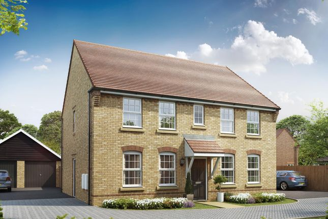 "Thumbnail Detached house for sale in ""Chelworth"" at Aspen Gardens, Hook"