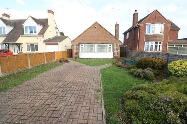 Thumbnail Detached bungalow for sale in Gipsy Lane, Irchester, Wellingborough