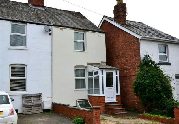 Thumbnail Terraced house to rent in Belmont Road, Malvern