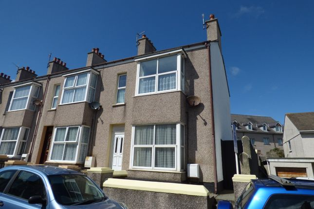 Thumbnail End terrace house for sale in Kings Road, Holyhead, Sir Ynys Mon