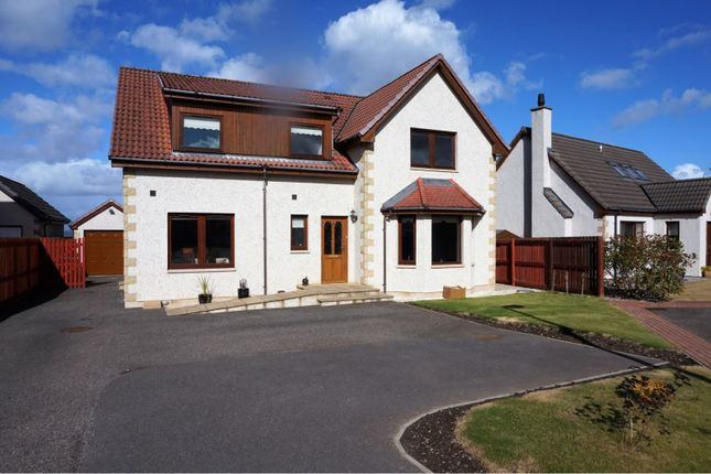 Thumbnail Detached house for sale in Woodside Farm Drive, Inverness