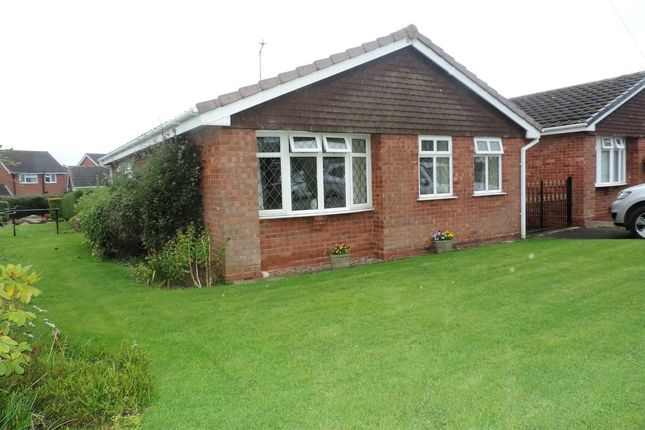 Thumbnail Detached bungalow to rent in Old Barn Close, Gnosall, Stafford