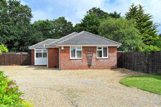 Thumbnail Detached bungalow to rent in Oak Road, New Milton