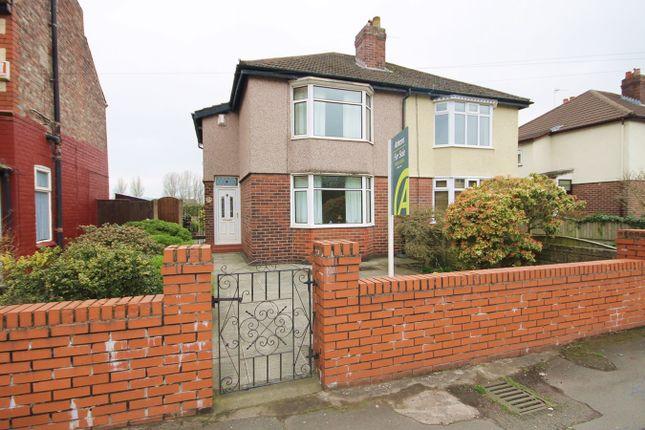 Thumbnail Semi-detached house for sale in Hallfields Road, Warrington