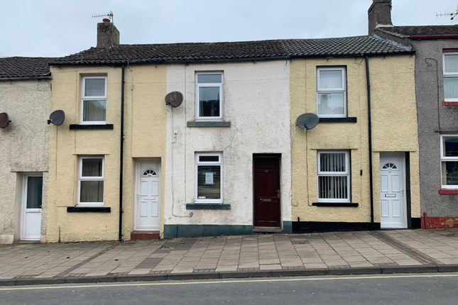 2 bed terraced house for sale in Main Street, Frizington, Cumbria CA26