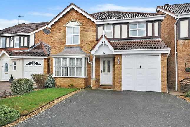 Thumbnail Detached house for sale in Curlbrook Close, Wootton Fields, Northampton