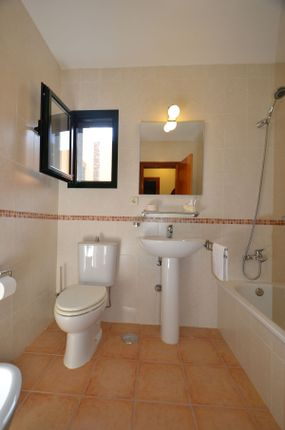 Bathroom of Drago 9, Corralejo, Fuerteventura, Canary Islands, Spain