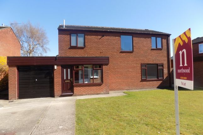 Thumbnail Detached house to rent in Lansdowne Close, Carlisle