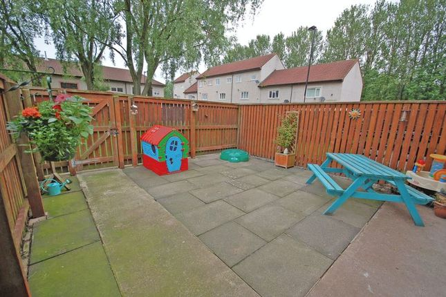 Rear Garden of Mallard Court, Killingworth, Newcastle Upon Tyne NE12