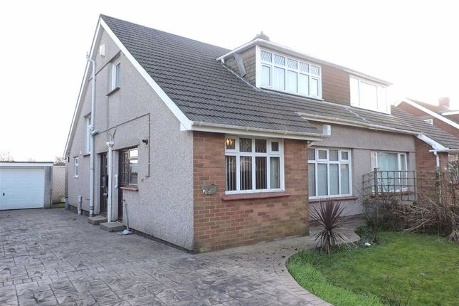 Thumbnail Semi-detached bungalow for sale in Brodorion Drive, Cwmrhydyceirw, Swansea